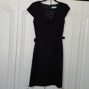 Calvin Klein little black dress size 10